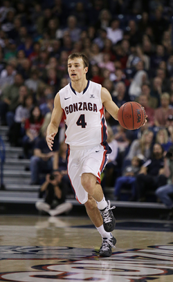 Kevin Pangos scored 27 points last night against Dayton and 18 against Chaminade today. - YOUNG KWAK PHOTO