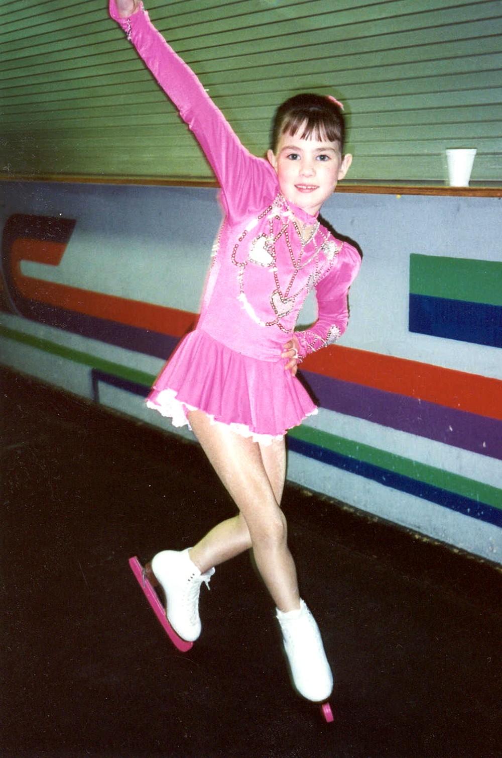 Kristin Cowan at age 7