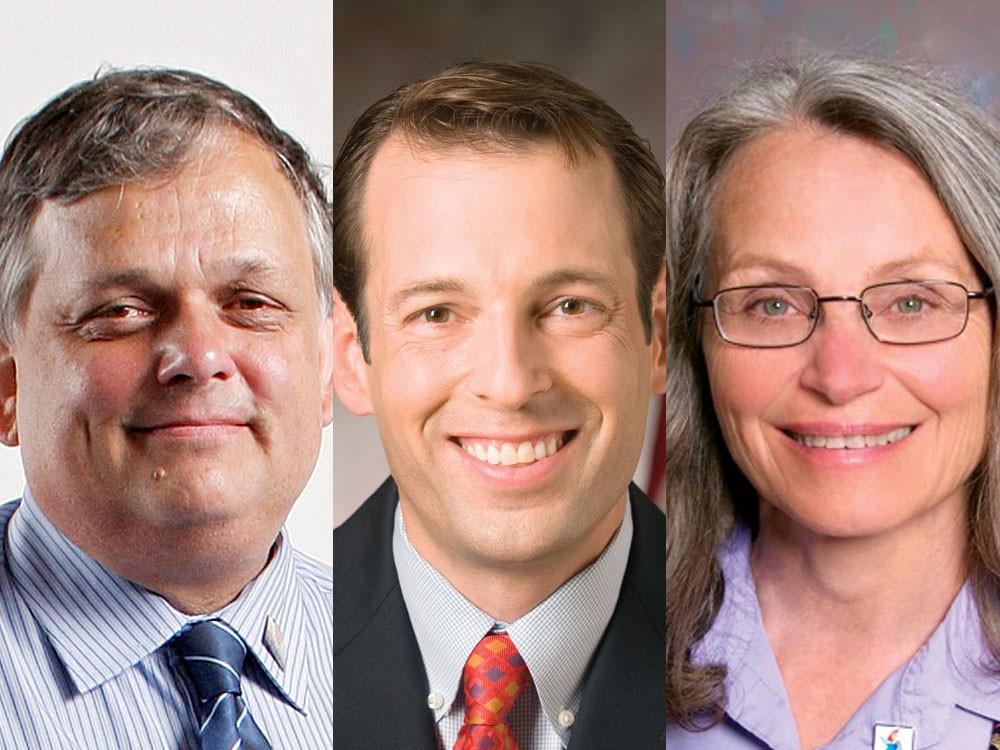 L-R: Bob Apple, Andy Billig, Louise Chadez