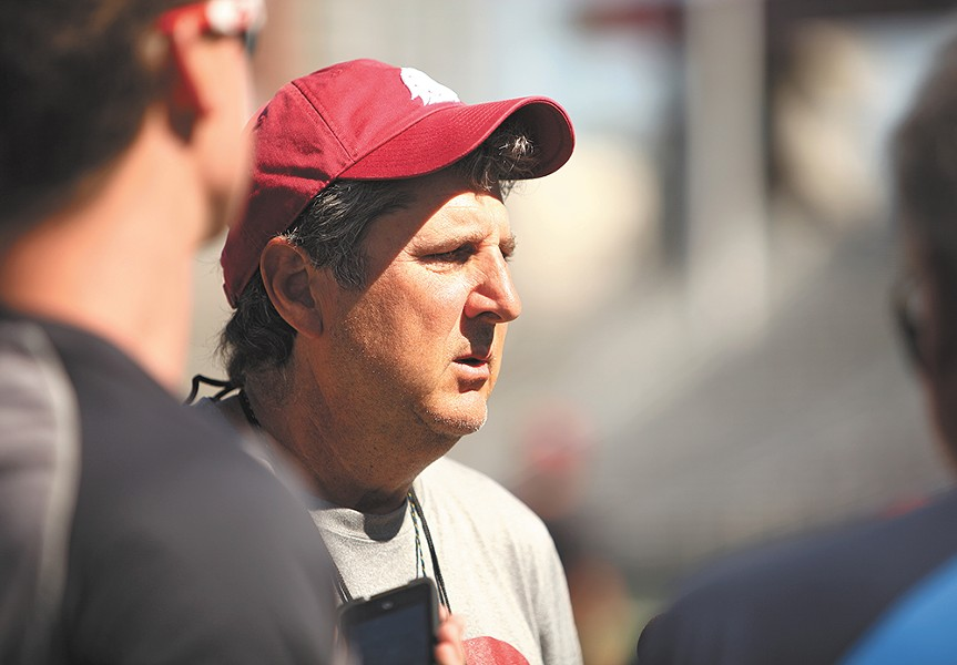 Leach knew that taking over at WSU wouldn't be easy. - YOUNG KWAK