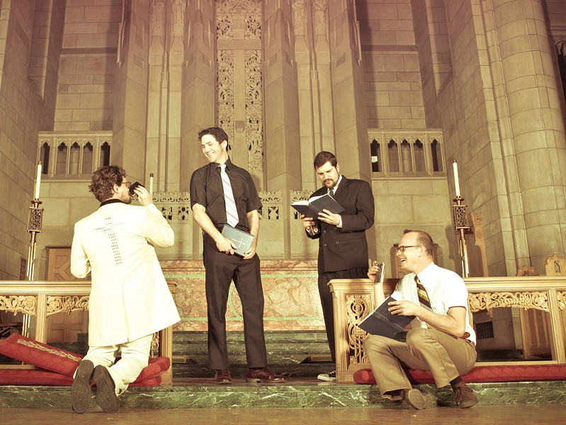 Left to right: Ryan Coleman, Shawn Cox, Daniel Burns, Tim Lannigan - KRISTEN BLACK