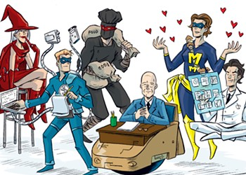 The Heroes and Villains of College