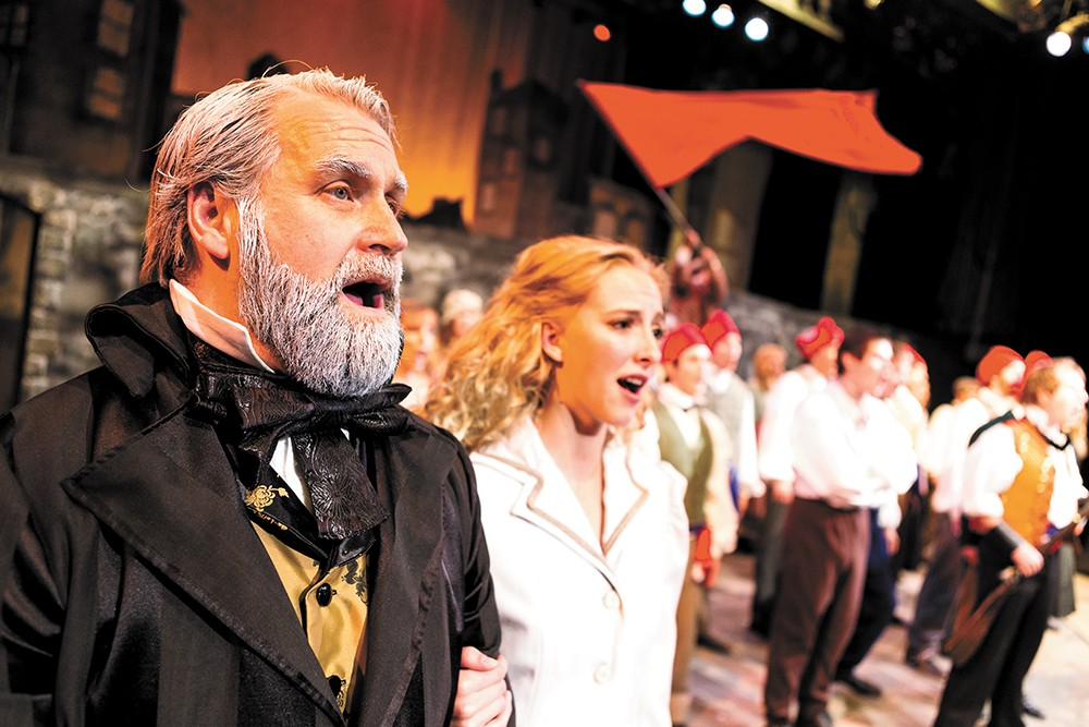 Les Miserables featuring the Spokane Symphony on March 1 and 2. - STEPHEN SCHLANGE
