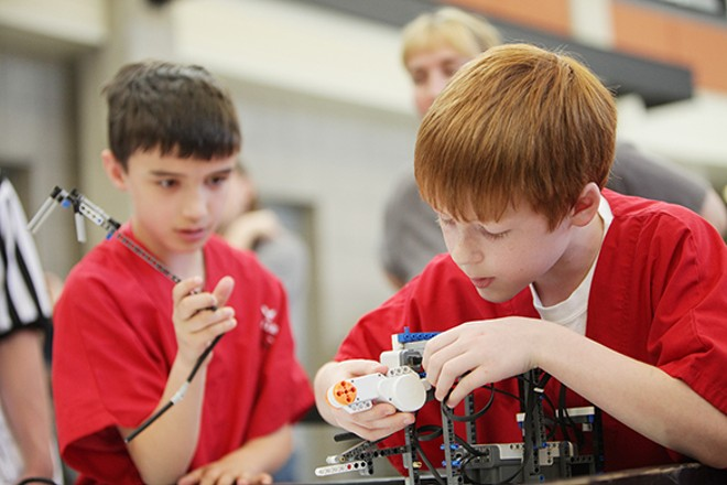 PHOTOS: Robotics Expo