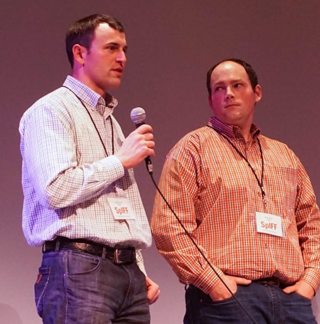 Lind, Washington, farmers Josh Knodel and Matt Miller from the movie Dryland. - COURTNEY BREWER