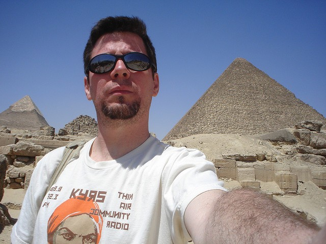 Waite in Egypt