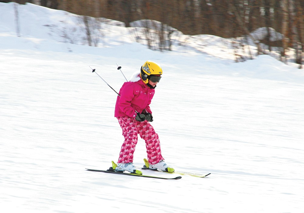 Local mountains offer programs for various skill levels.