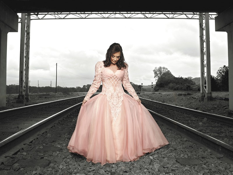 Loretta Lynn, at 77, still performs her signature country tunes.