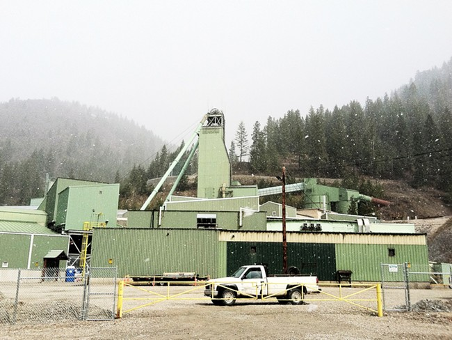 Lucky Friday Mine in Mullan, Idaho