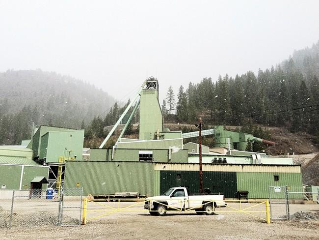 Lucky Friday Mine in Mullan, Idaho