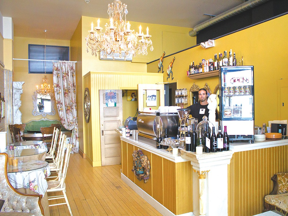 Luxe Coffee House is known for its snazzy interior as well as its lattes. - NICHOLAS GRAUERT