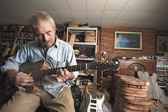 Lynn Ellsworth once sold guitars to the stars. Now he has other priorities. - YOUNG KWAK