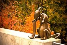 MAC GRAPHICS STAFF - MAC On Campus Sculpture