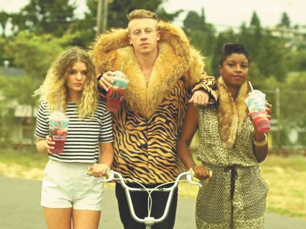 Macklemore and Spokane boy Ryan Lewis won over our critics this year.