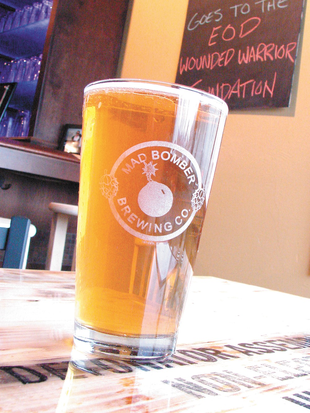 Mad Bomber Brewing Co. gave North Idaho another craft beer option. - CARRIE SCOZZARO