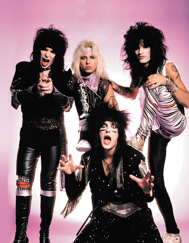 Mötley Crüe just might be the last of the dying breed of over-the-top hedonistic rock bands.
