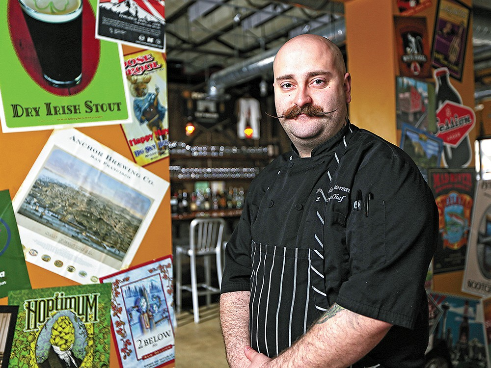 Manito Tap House\'s Executive Chef Branden Moreau is a graduate of Le Cordon Bleu program. - YOUNG KWAK