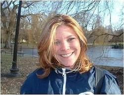 Ultra-marathon swimmer Elaine K. Howley.