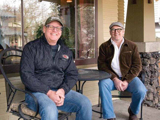 Mark Mustoe and Barry James - LORETTA SURMA