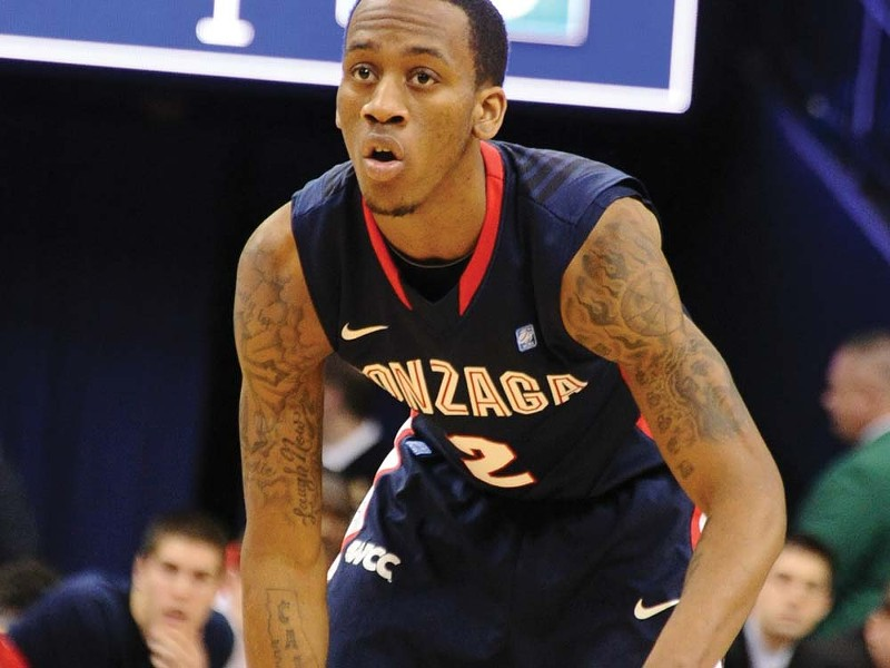Marquise Carter leads the Zags by making 84 percent of his free throws.
