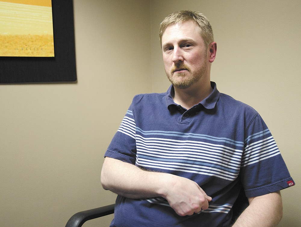 Matt Kinerson alleges deputies used excessive force during a 2013 welfare check — despite warnings about his medical issues. - JACOB JONES