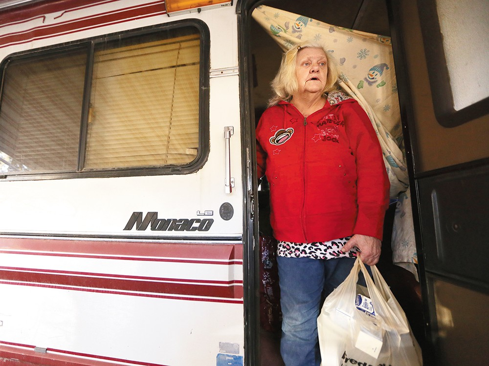 Meals on Wheels client H. Egeland Gilliam in Coeur d\'Alene. - YOUNG KWAK