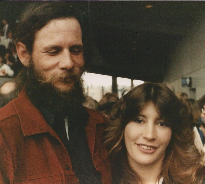 Meier and her husband, Dan, years ago. - PROVIDED BY STEPHANIE RENEE MEIER'S FAMILY