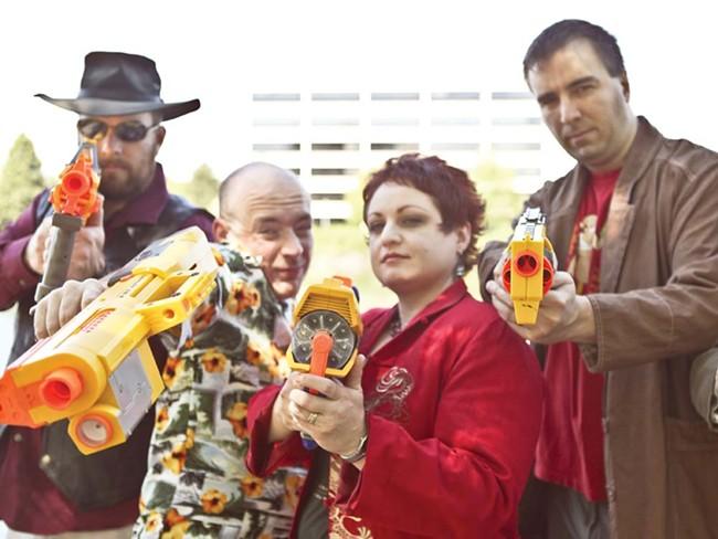 Members of Spokane's Firefly LARP. - JORDAN BEAUCHAMP