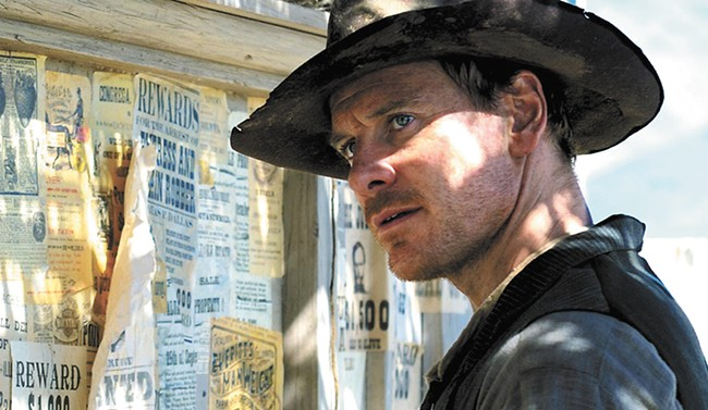 Michael Fassbender in Slow West.