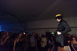 Michelle Robertson pauses at the end of the runway. - YOUNG KWAK