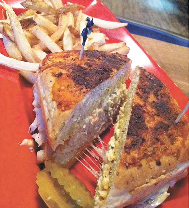 Mid City's Cuban sandwich. - CARRIE SCOZZARO