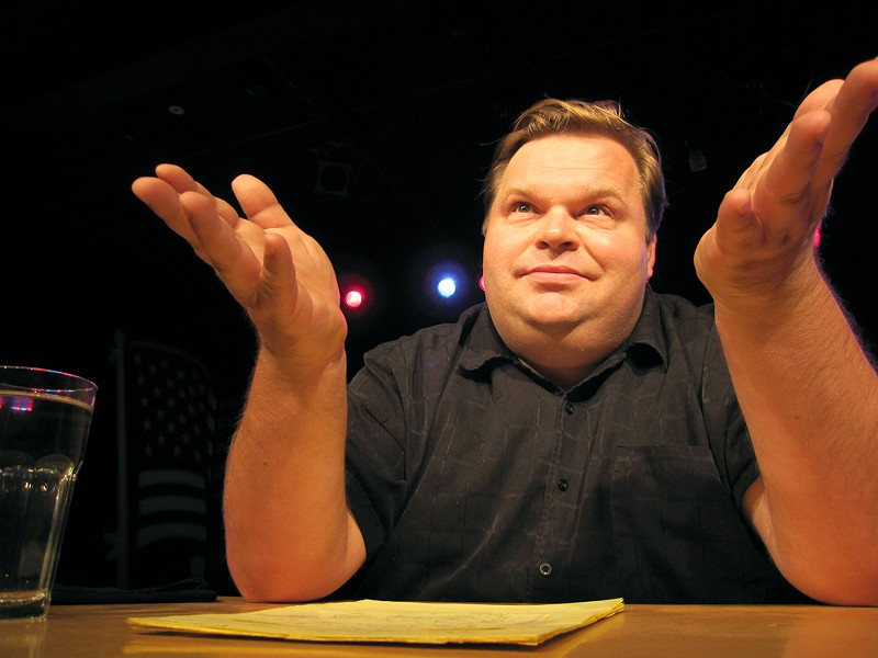 Mike Daisey, the theater performer at the center of the This American Life controversy