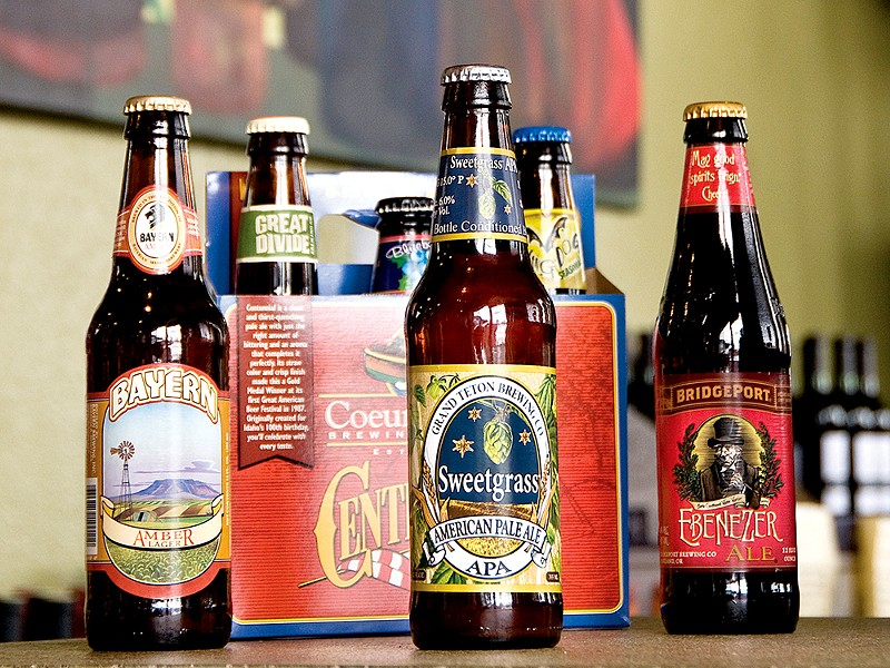 Mix-and-match your own six pack at Bottles.