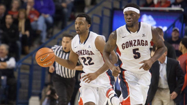 The Zags are on ESPN2 at 8 pm tonight, facing No. 22 SMU. - GONZAGA ATHLETICS