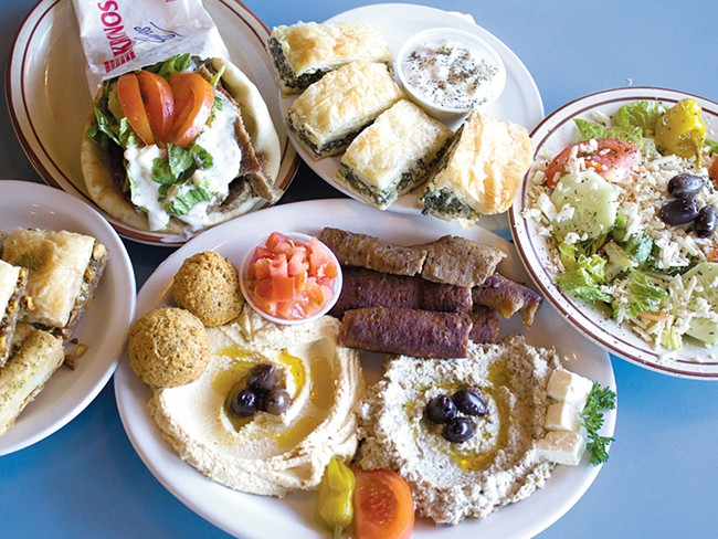 More than 30 years after its founding, Azar\'s continues to provide authentic Middle Eastern cusine. - NICK GRAUERT