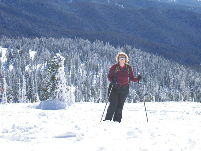 Mount Spokane offers some great snowshoeing — with great views. - DAN EDWARDS