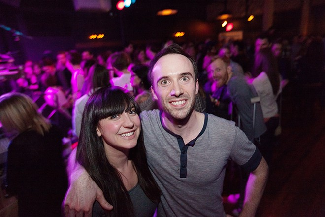 Karli, left, when the Bartlett was named Best New Nightspot in the 2014 Best Of poll.