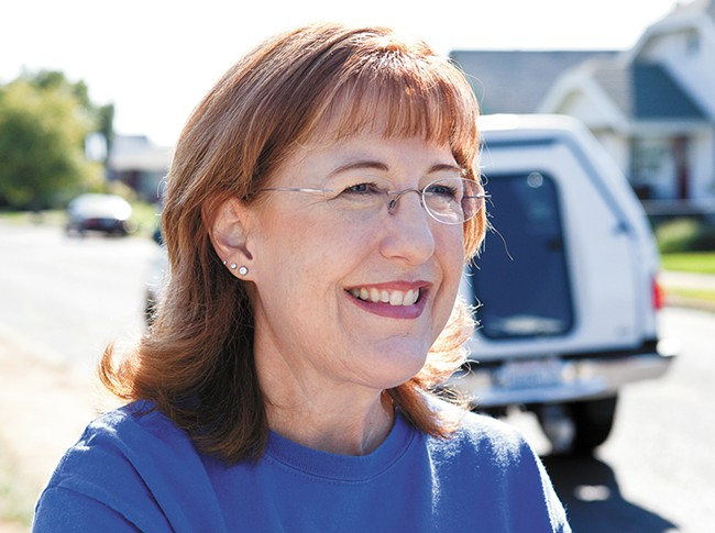 """Nancy McLaughlin: """"The council's become so much more political in the last four years."""" - STEPHEN SCHLANGE"""