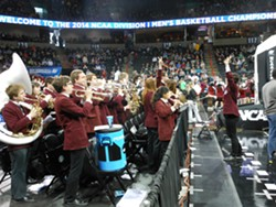 The Harvard band looks like Harry Potter, sound like a dream.