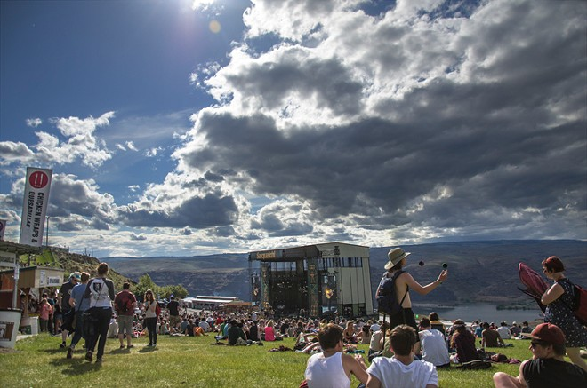 The Sasquatch! Music Festival at the Gorge last year. - NICK GAST