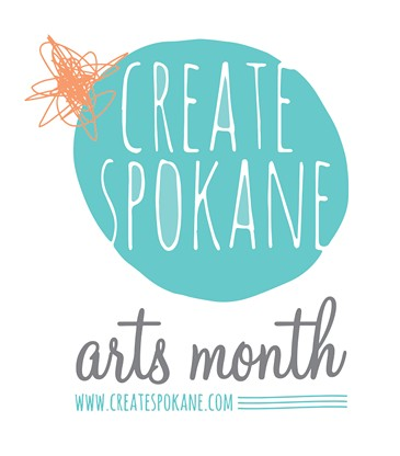 In May, Spokane Arts held a contest to design the logo for Create Arts Month. - TIFFANY PATTERSON