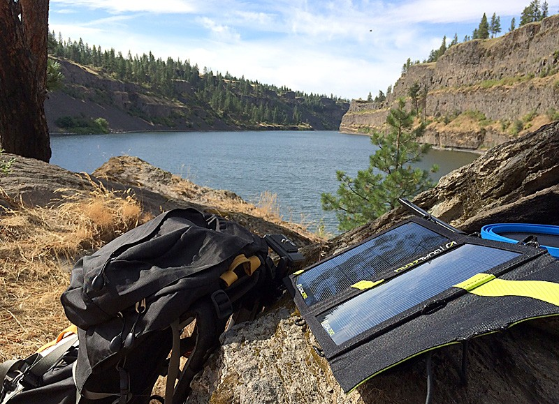 Staying energized at Bonnie Lake with solar, which a new report estimates has grown by 139,000 percent. - JACOB JONES