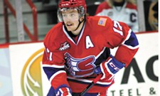 Mitch Holmberg becomes the Spokane Chiefs' top career goal-scorer