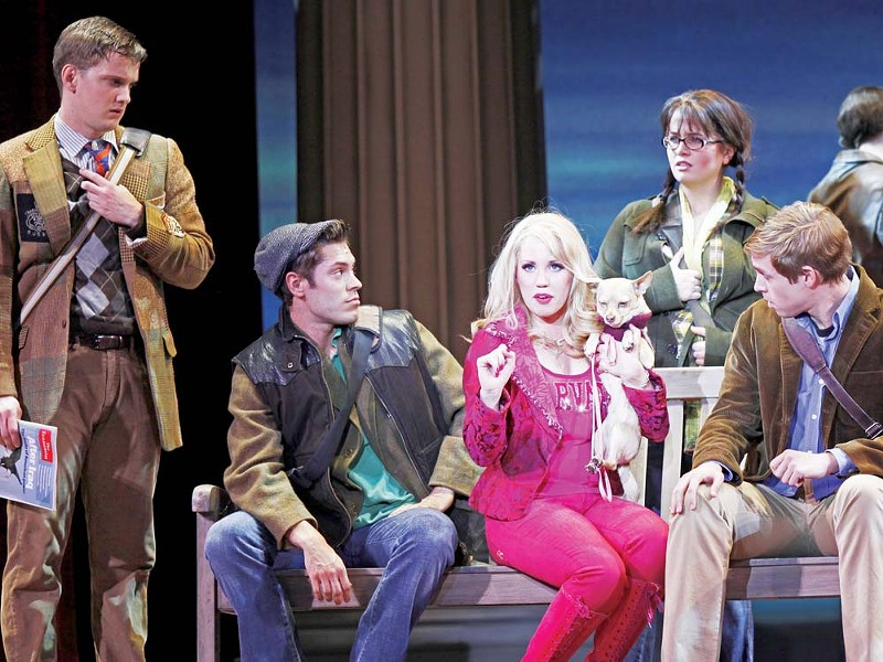 Nikki Bohne as Elle Woods: I'm not a second-rate Reese Witherspoon.