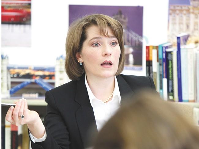North Central High School teacher Kelly Stromberg will teach the school\\\'s Cambridge Capstone Program - YOUNG KWAK