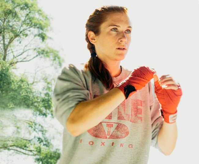 Northwest boxer Jennifer Hamann takes on the nation's best fighters at Northern Quest Resort & Casino.