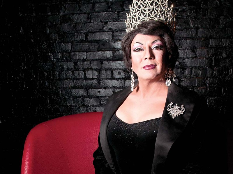 Nova Kaine: empress of the Imperial Sovereign Court of Spokane. - AMY HUNTER