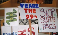 Occupiers and amenders stage protest, panel