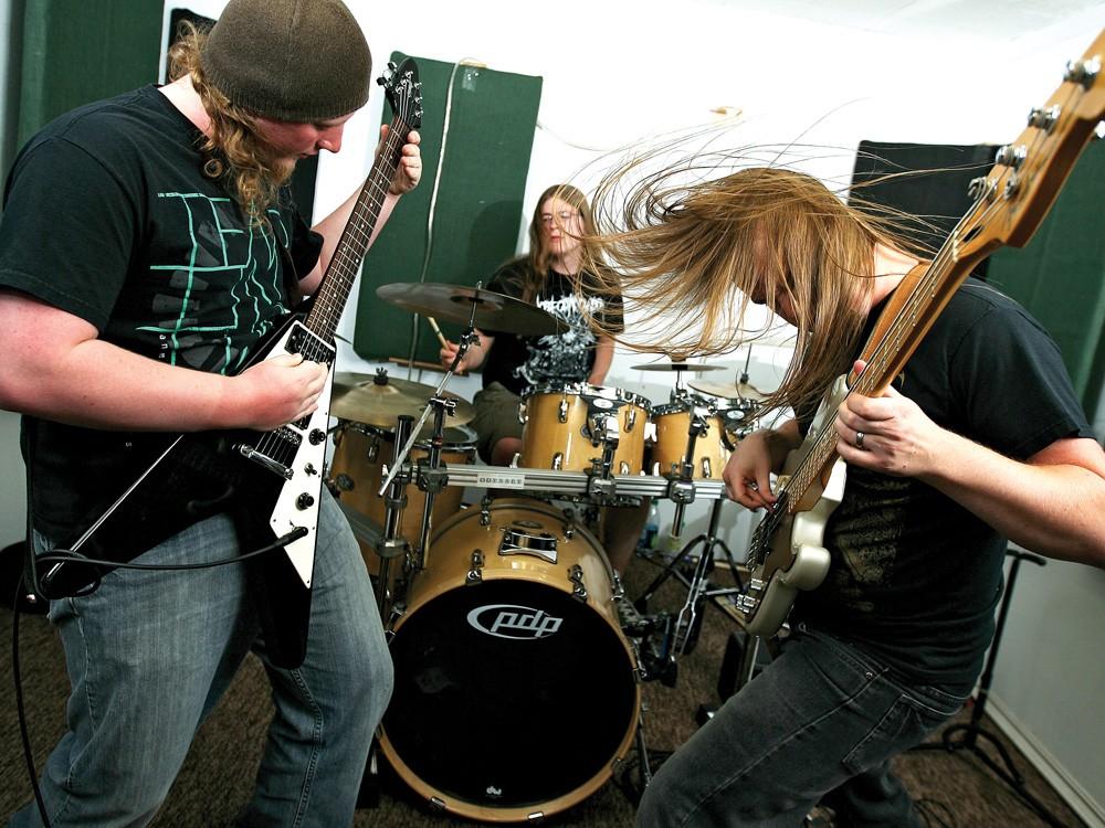Odyssey (from left): Jerrick Crites, Lukas Hilker, Jordan Hilker - YOUNG KWAK