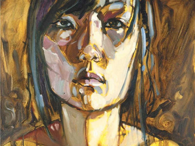 One of Dan Spalding\'s pieces on display in Coeur d\'Alene.